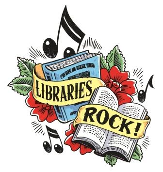 Library's Rock! 2018 Summer Reading Graphic-copyrighted image