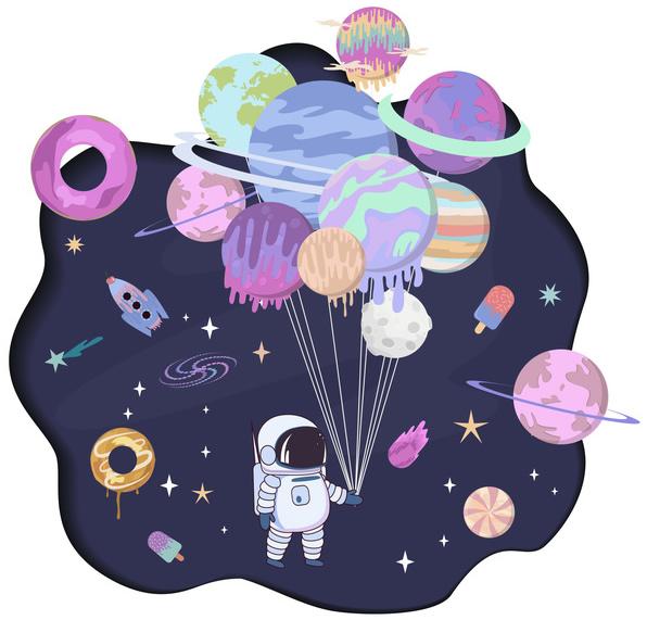 Astronaut Ice Cream-copyrighted image
