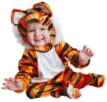 Baby in Tiger Costume-copyrighted image