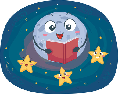 Bedtime Stories-Moon Stars-copyrighted image