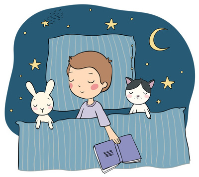 Bedtime Story-copyrighted image