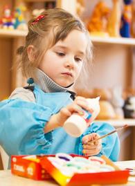 Child Making Crafts-Copyright lotosfoto