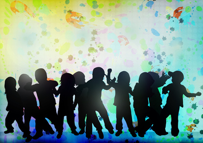 Children Dancing-copyrighted image