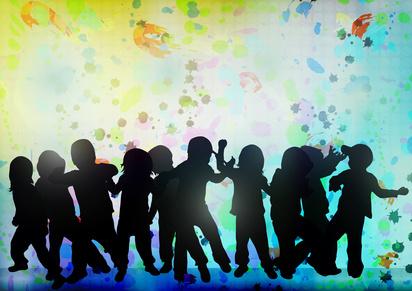 Children's Silhouettes-copyright eobrazy/Fotolia.com
