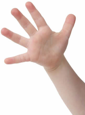 Fingers Counting-copyright Melissa King/Fotolia.com