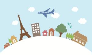 France Flight-Open Clip Art