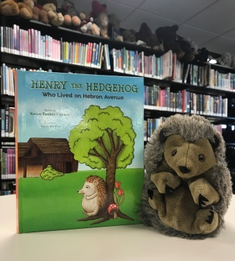 """Henry the Hedgehog"" Book Cover"