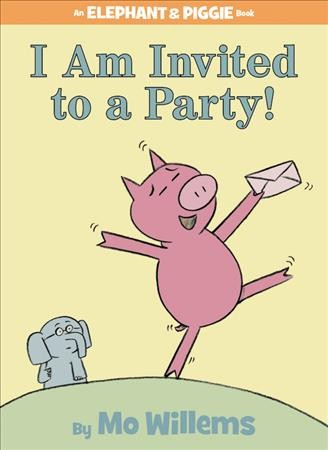 I Am Invited to a Party Book Cover