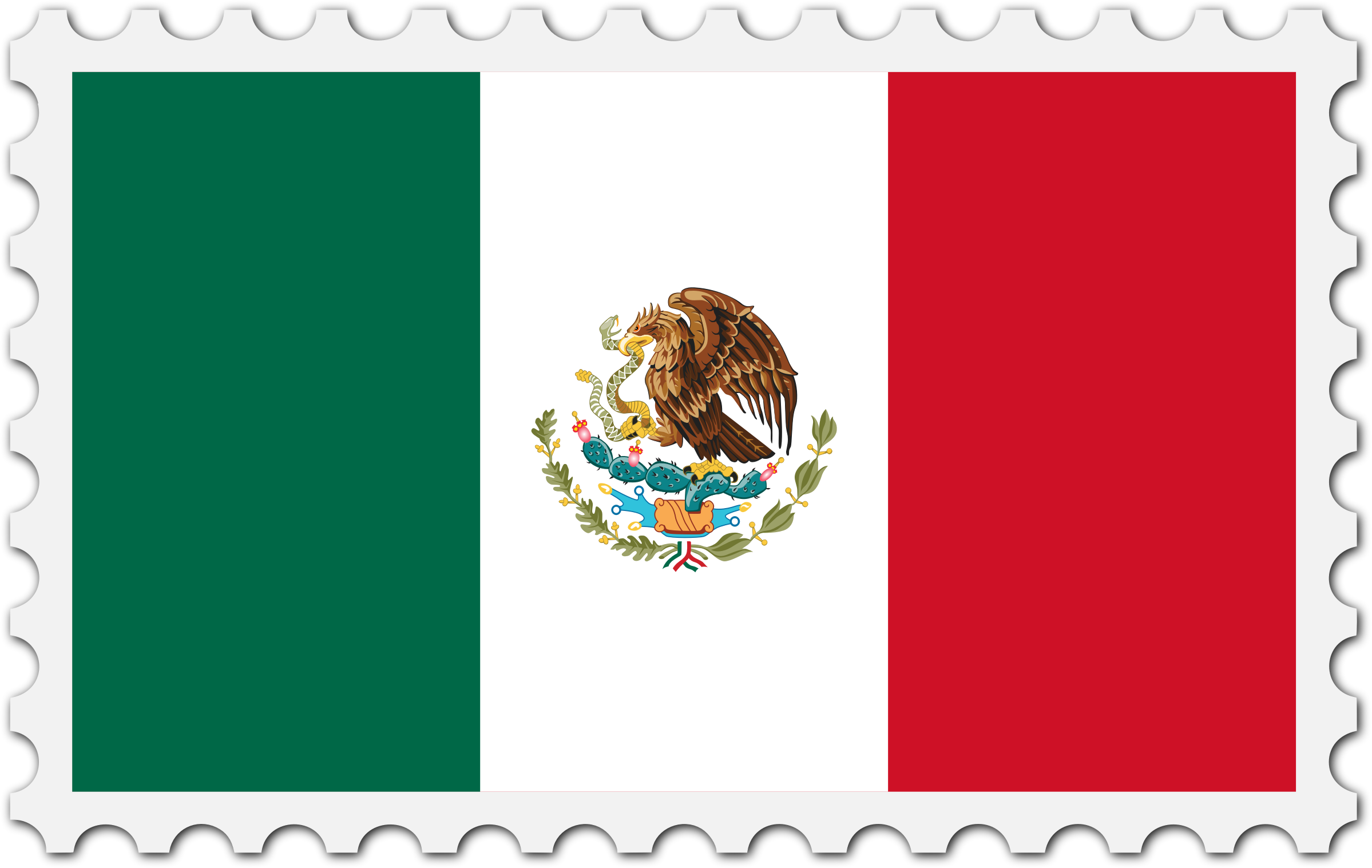 Mexico Flag-Clipart Library