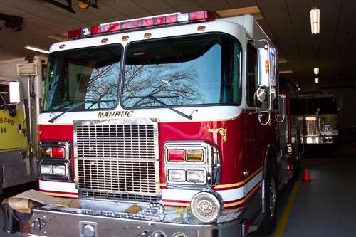Naubuc Firetruck-Fire Company #1