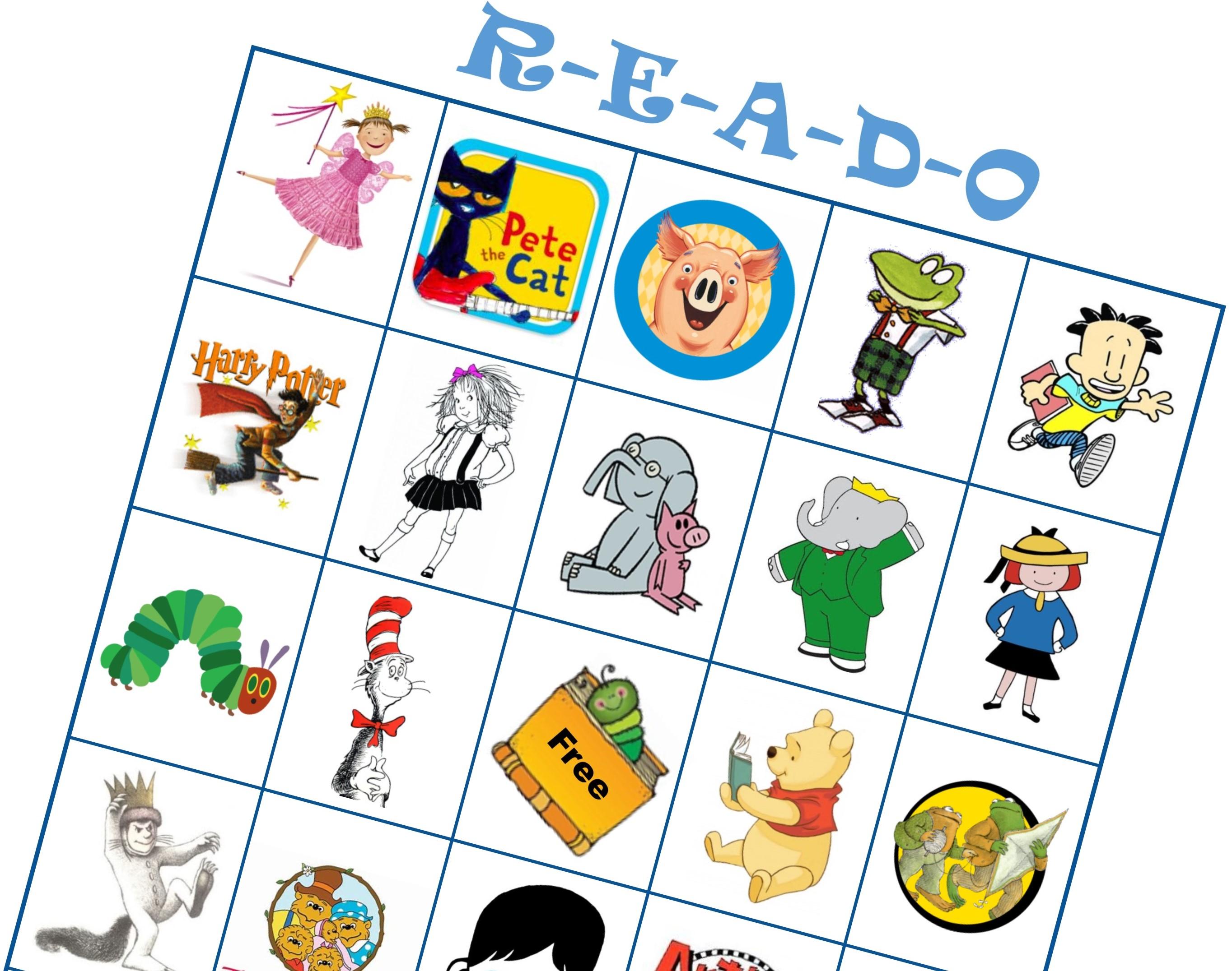 R-E-A-D-O Game Card