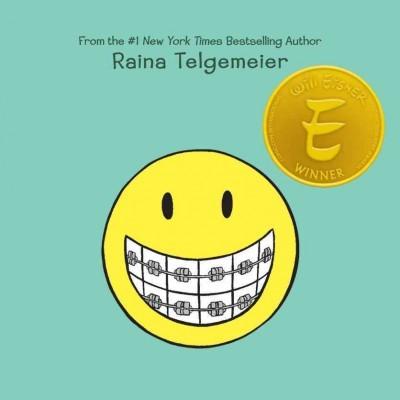 Raina Telgemeier Smile Book Cover