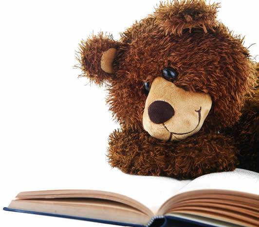 Teddy Bear Reading-copyright Fotos 593/Fotolia.com