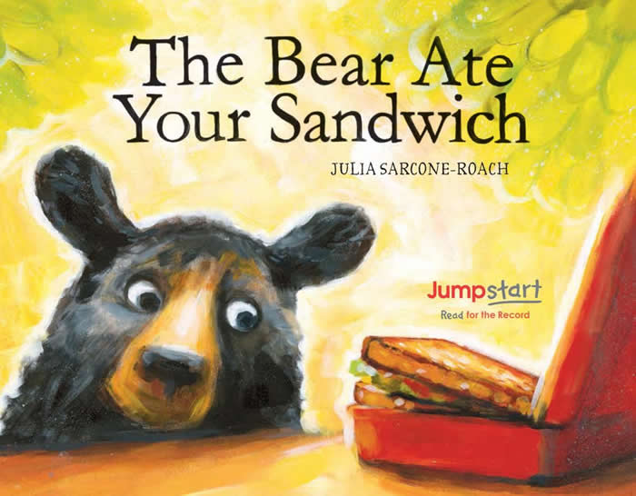 The Bear Ate Your Sandwich Book Cover-used with permission