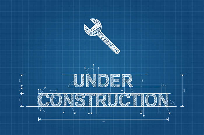 "Blueprint ""Under Construction""-copyright marinv/Fotolia.com"
