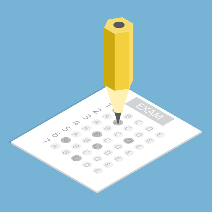 Exam Sheet and Pencil-copyright Andrii Symonenko/Fotolia.com