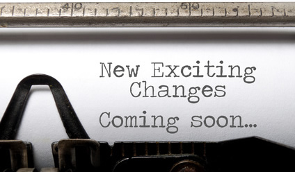 New Exciting Changes-copyright Pixelbliss/Fotolia.com