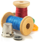 Thread and Thimble-copyright Sergii Moscaliuk/Fotolia.com