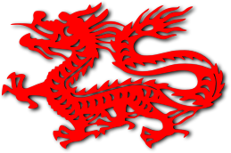 Chinese Dragon-Open Clip Art