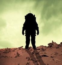 Astronaut on Mars-copyright cadrenalinapura/Fotolia.com