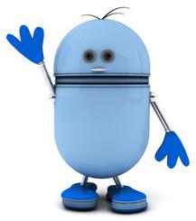 Blue Robot-copyrighted image/Fotolia.com