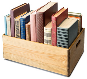 Books in Crate-copyright donatas1205/Fotolia.com