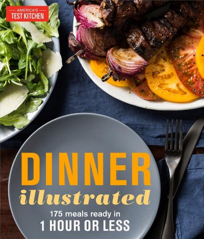 Dinner Illustrated Book Cover