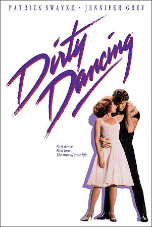 Dirty Dancing DVD Cover-copyrighted image