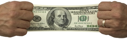 Stretched Dollar-copyrighted image