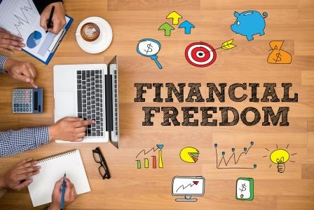 Financial Freedom-copyrighted image