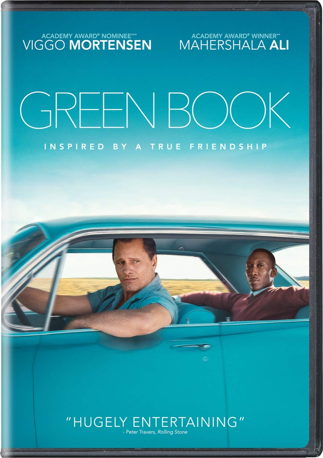 Green Book DVD Cover-copyrighted image