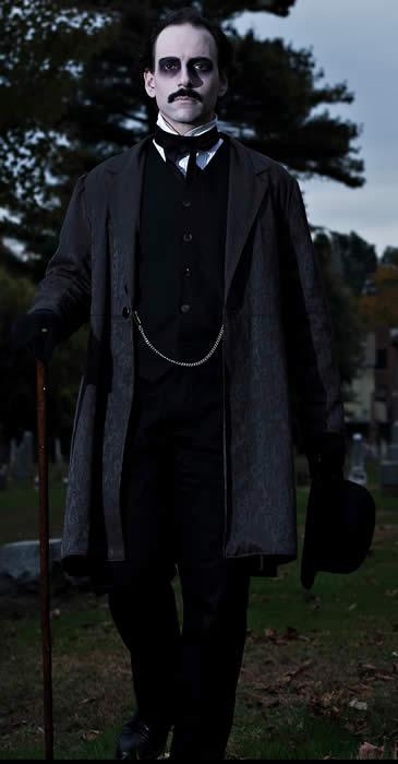 Campbell Harmon as Edgar Allen Poe