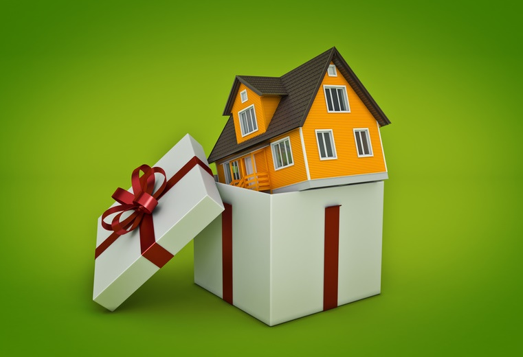 House in Gift Box-copyrighted image