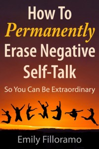 How to Permanently Erase Negative Self-Talk Book Cover.