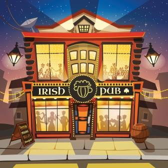 Irish Pub-copyrighted image
