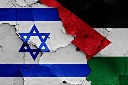 Israeli-Palestinian Flags-copyright daniel0/Fotolia.com