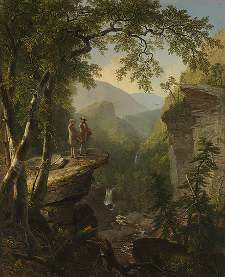 Kindred Spirits, 1849, Asher B Durand
