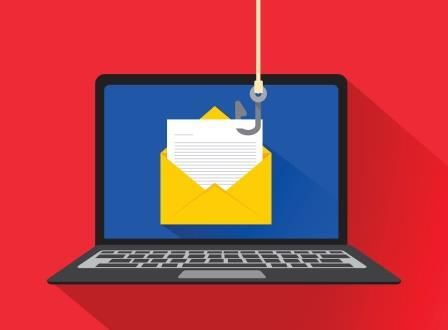 Laptop Phishing-copyrighted image