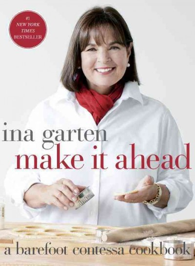 Make It Ahead Cookbook Book Cover