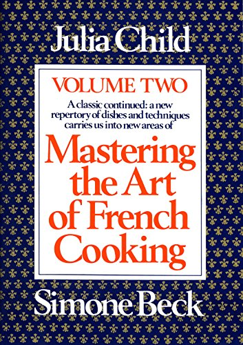 Mastering the Art of French Cooking V.2 Book Cover