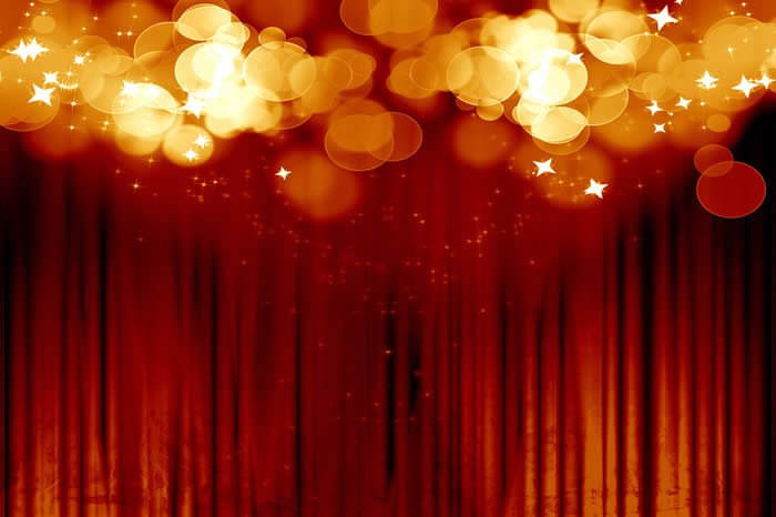 Movie Curtain and Lights-copyright Argus/Fotolia.com