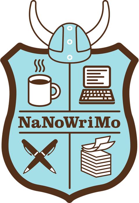 NaNoWriMo Shield Logo