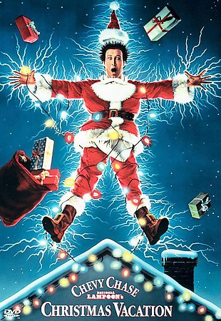 National Lampoon's Christmas Vacation DVD Cover-copyrighted image