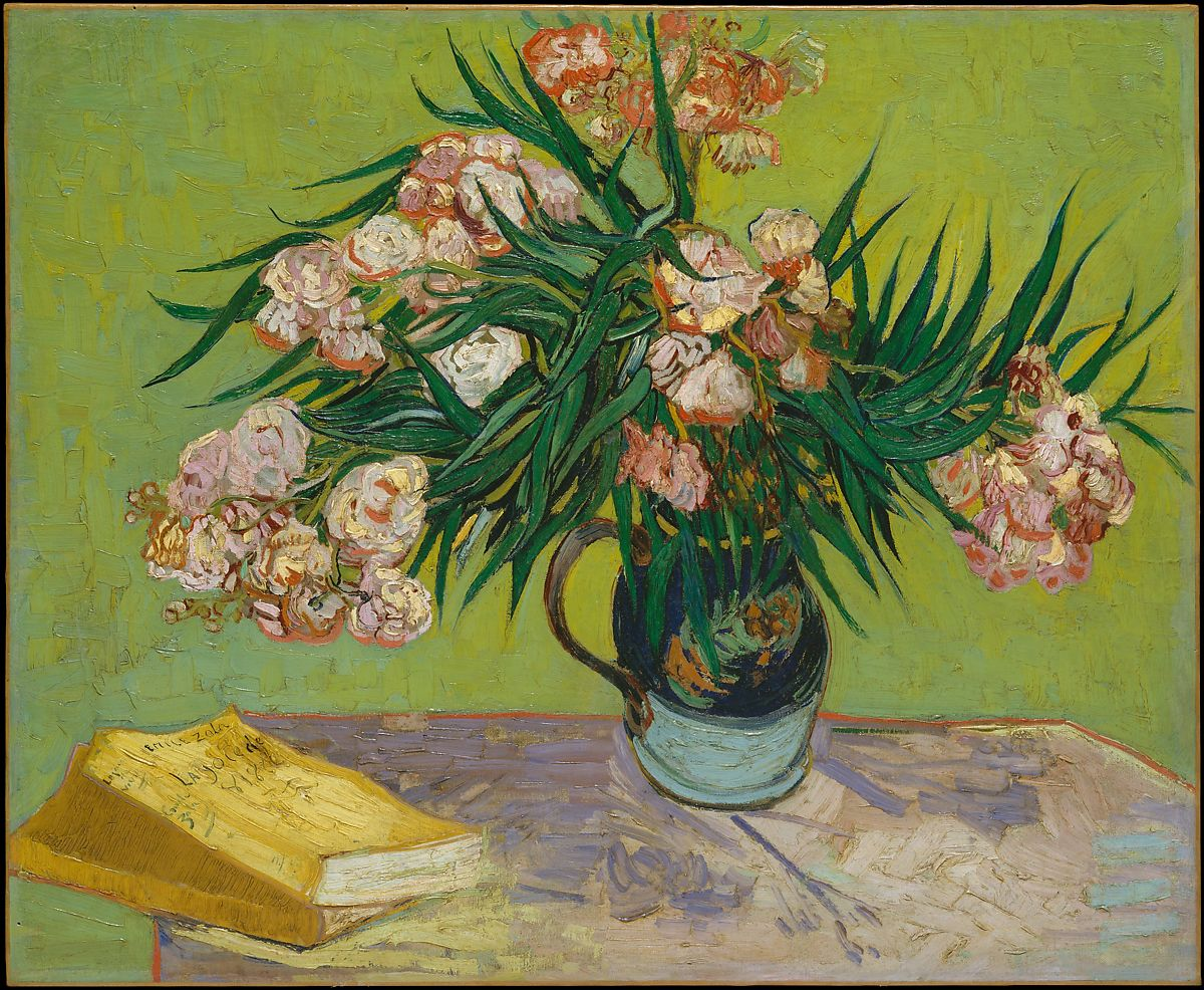 Oleanders-Van Gogh-Creative Commons