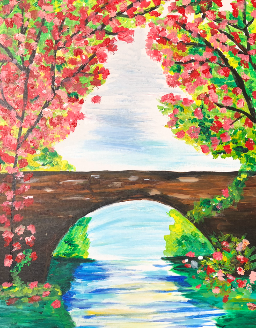 Paint Night with Pam Bridge Masterpiece
