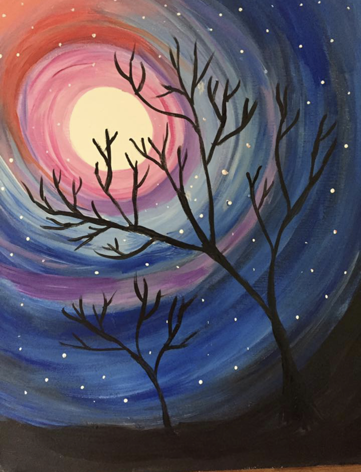 Paint Night-Starry Night Masterpiece