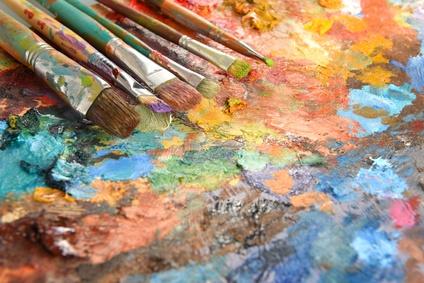 Painter's Palette-copyright Gino Santa Maria/Fotolia.com