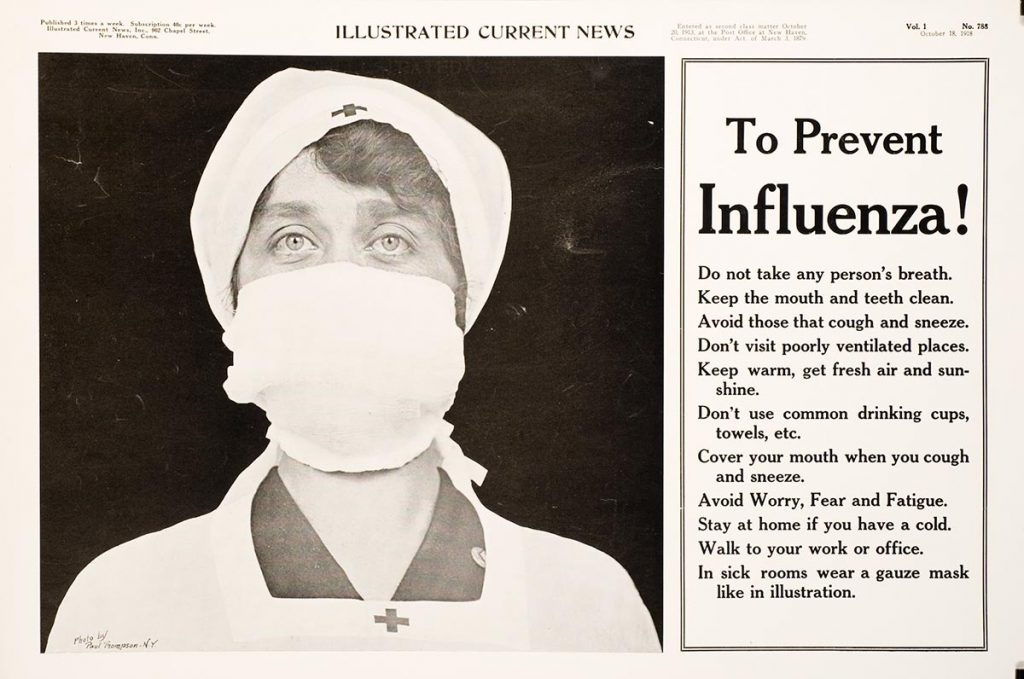 Pandemic 1918-courtesy of CHS