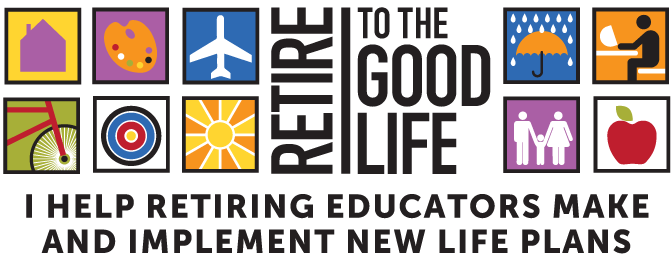 """Retire to the Good Life"" Logo"