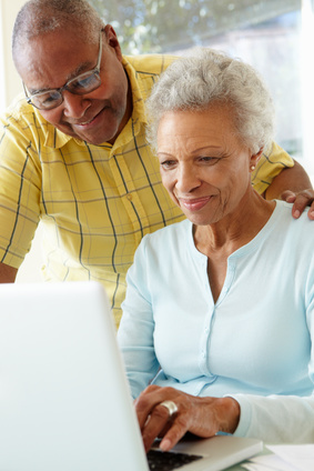 Senior Couple with Computer-copyright Monkey Business/Fotolia.com